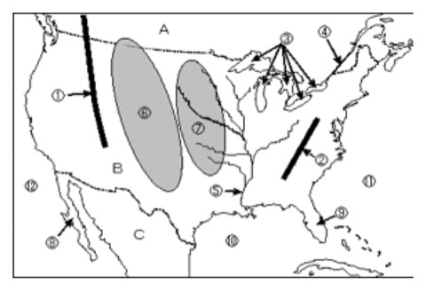 ヒロのブログ社会 地理 アメリカ 地図