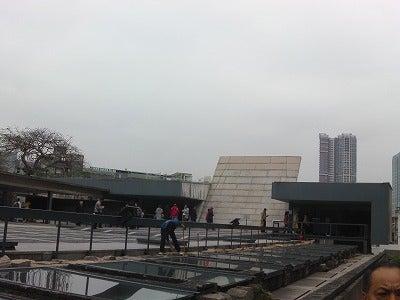 北京大学に短期留学をしました。聖ポール天主堂跡