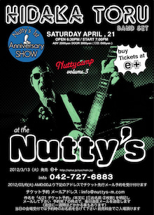 ■Live & BAR  『Nutty's』 の ESCAPE from Tokyo-4/21