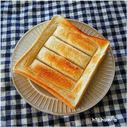 ++かわぃくておいしぃ++-トースト