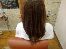 大阪堺市堺区 ミコノスヘアーエステで枝毛 切れ毛 クセ毛の髪質改善 blue Air