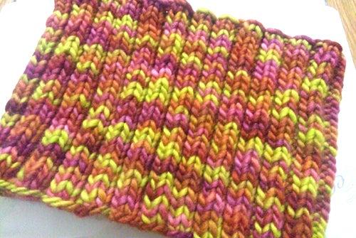ハンドメイドニット(手編み かぎ針 棒針 ニットセラピー ワークショップ) - Mito Knit --マラブリゴのネックウォーマー