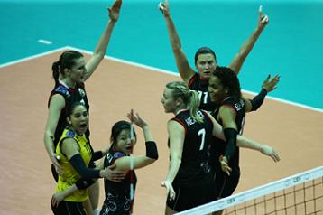 CL女子準々決勝2:栗原恵出場|バレー・テニス中心のスポーツブログ