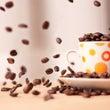 海外で、コーヒーを飲…