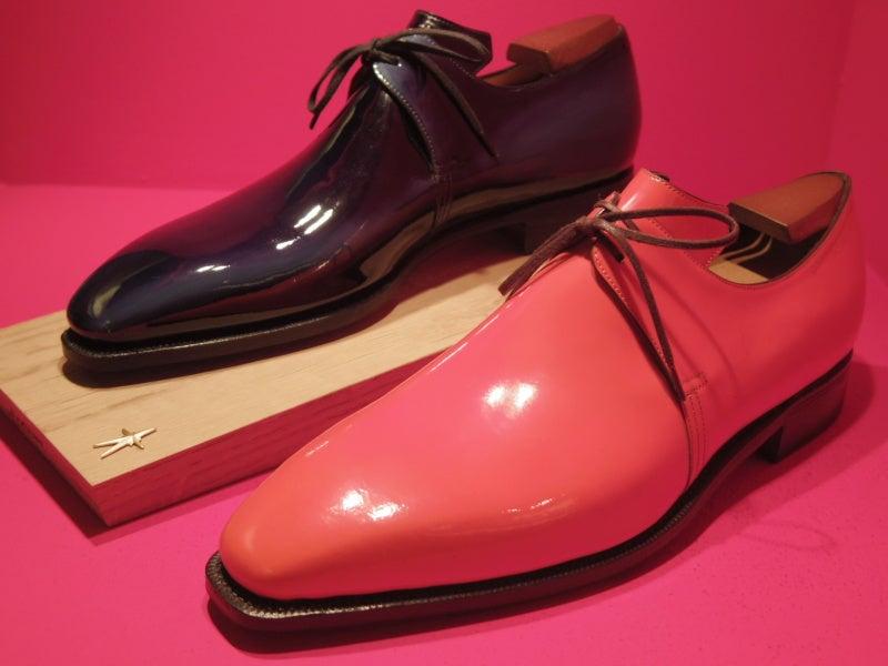 憧れの一生靴コルテ、完成した   革靴 磨き  革靴