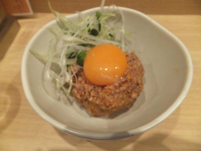 にゃほのラーメン日記(仮)-肉みそユッケ