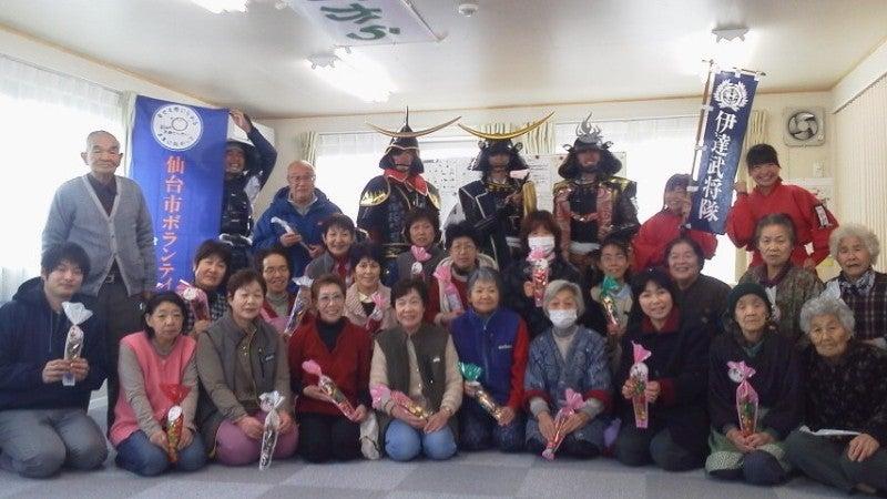 復興は岡田西町から!-武将隊記念撮影