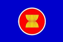 $潜伏中なブログ-asean旗 親日国
