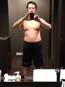 筋肉トレーニングと炭水化物抜きダイエットでやせるぞ!ダイエット成功体験記(きっと)-0312トレーニング後