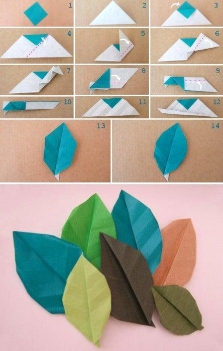 クリスマス 折り紙 折り紙 葉っぱ : ameblo.jp