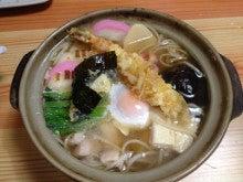 懐古庵・女将のブログ-鍋焼き蕎麦