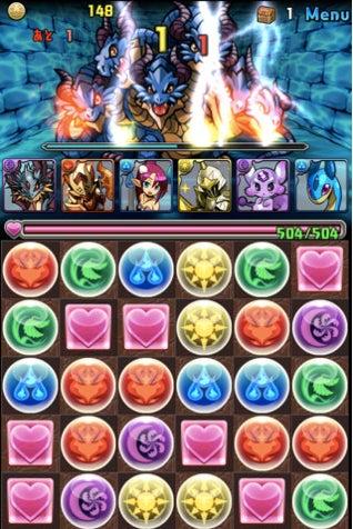 iOS パズル&ドラゴンズ