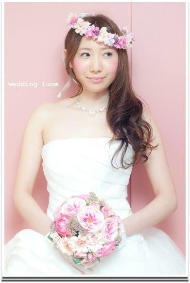 花嫁 髪型 花嫁 髪型 花冠 画像 : ameblo.jp