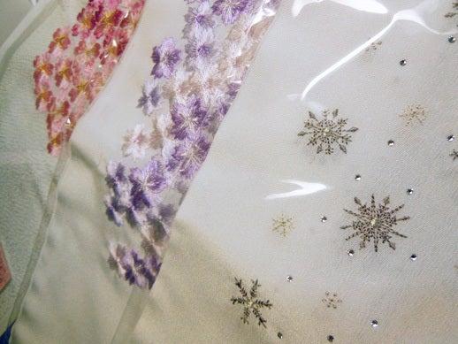 $Yukoのハンドメイド+着物雑記-刺繍半衿