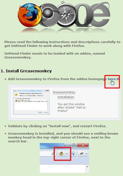 佐渡の洋食屋店長のブログ-FirefoxにUnfriend Finderをインストール