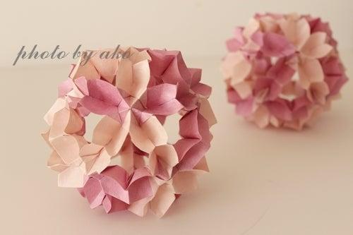 花 折り紙 折り紙 玉 : divulgando.net