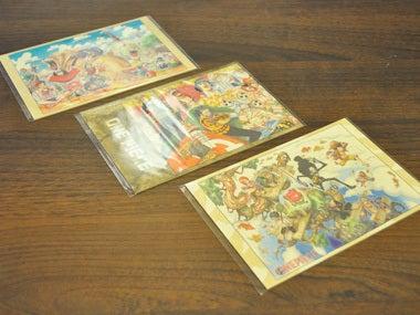 ワンピース展展示グッズ ポストカード