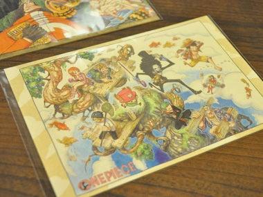 ワンピース展 グッズ ポストカード