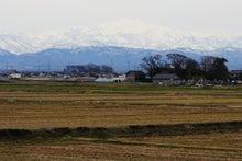 「ぎゃらりーたちばな」更新日記-車窓から見る「白山」
