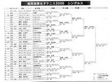 $福岡国際女子テニス オフィシャルブログ-2006s