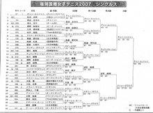 $福岡国際女子テニス オフィシャルブログ-2007s