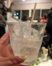 椿の『B級ご当地グルメ保存委員会』-氷とお酒