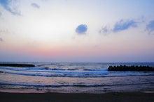 「ぎゃらりーたちばな」更新日記-徳光海岸夕景