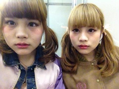 Fumi&Amiオフィシャルブログ「Fumi&Amiの双子ワールド☆」Powered by Amebaこれぞ瓜二つ!!