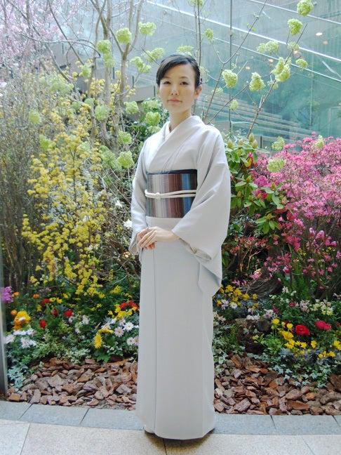 Yukoのハンドメイド+着物雑記-お召しと夢祐斎の帯