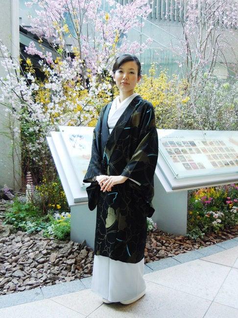 Yukoのハンドメイド+着物雑記-岡山武子先生のコート