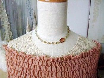 amule アミュレ ~ Handmade life ~-シックな春色のネックレス