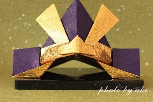 花 折り紙 : かぶと折り紙折り方 : hagifood.com