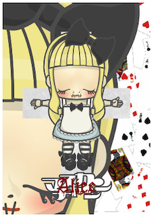 Chocobanditz blog☆キャラクターデザインとFavorites☆-マヌカンちゃん(Alice)