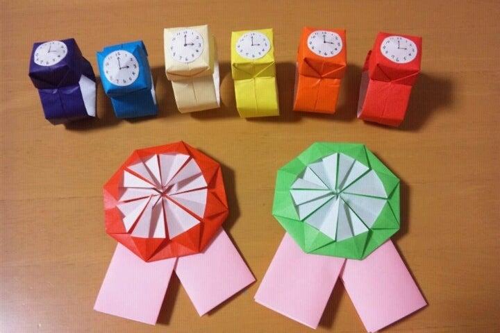 ハート 折り紙 折り紙 メダル 1枚 : divulgando.net