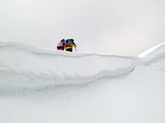 スノーシューハイク