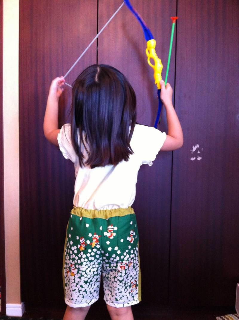 $jasmin jasmin 女医の子育て。-半ズボンで弓矢
