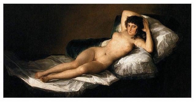裸のマハ : 世界中で遊ばれ放題...