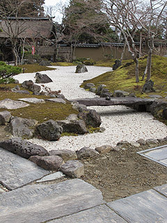 晴れのち曇り時々Ameブロ-石庭「天の庭」と地の庭」(円通院)