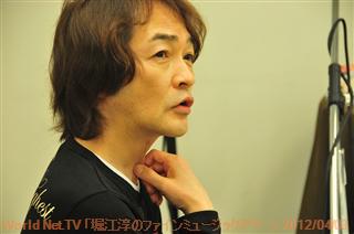 World Net.TV バックステージファインミュージックアワーゲスト浅岡雄也さん