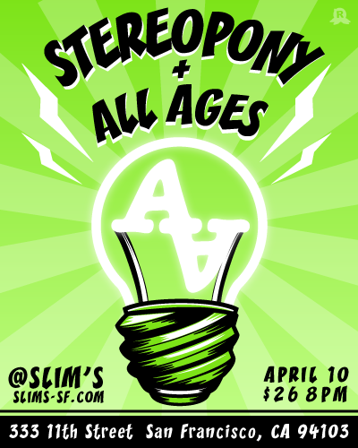 $All Ages TOMのBLOG-Stereopony & All Ages