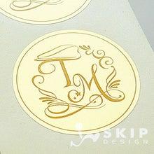 ウエディングロゴマークで作る、ふたりらしいオリジナル結婚式☆