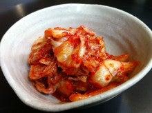 浜松のお好み焼き こなこなのブログ-キムチ