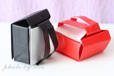 ハート 折り紙 ランドセル 折り紙 折り方 : ameblo.jp
