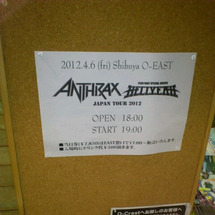 ANTHRAX in…