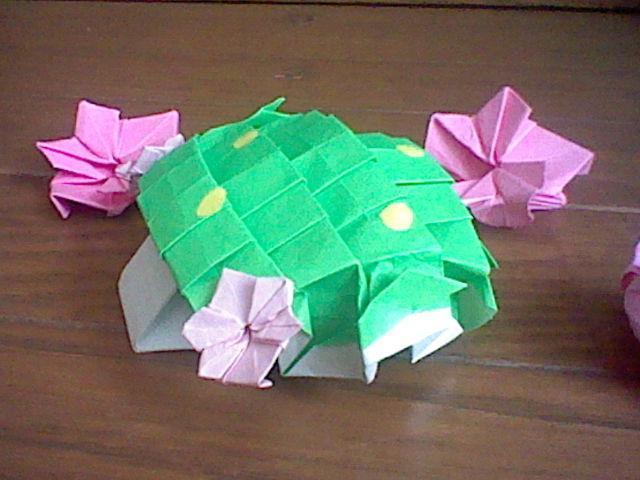 すべての折り紙 折り紙 簡単 ポケモン : シェイミ|折り紙でフィギュア