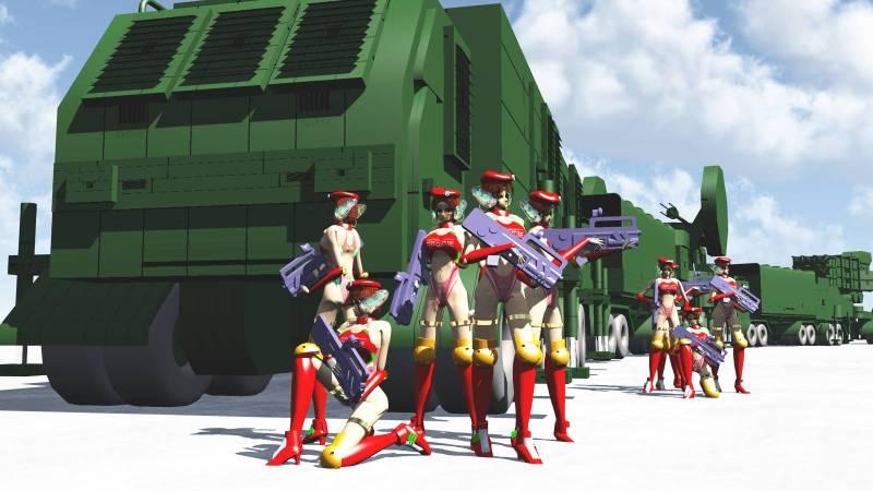 モデラー推理・SF作家米田淳一の公式サイト・なければ作ればいいじゃんShade13で高射特科を作ってみる(3)。