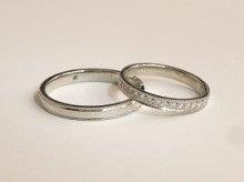 広島で婚約・結婚指輪を作る小さな宝石店『KOUKI倉迫』店長ブログ-宇井敬さま・由紀子さまの結婚指輪