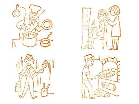 アンティークレースと雑貨のお店 パリの一日: 4/10 入荷 : アンティークスタンプ