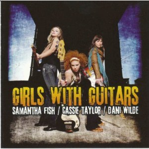SNOW BLIND WORLD-Girls With Guitars