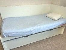 $子供部屋の整理について(2段ベッド・システムベッドデスクなど)-イケアODDAベッド収納